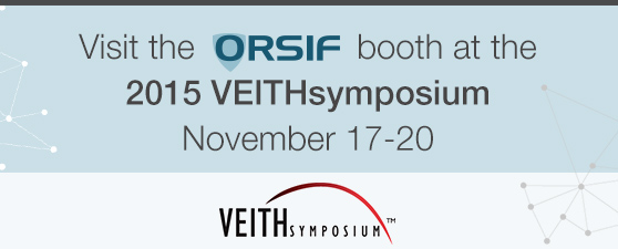 Visit the ORSIF booth
